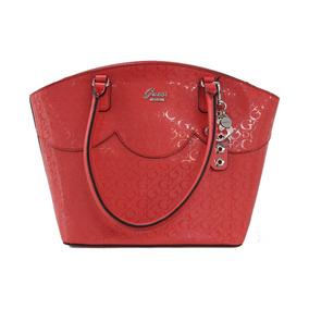 Bolsa Guess Adobe Ff679923 Rojo Dama Original