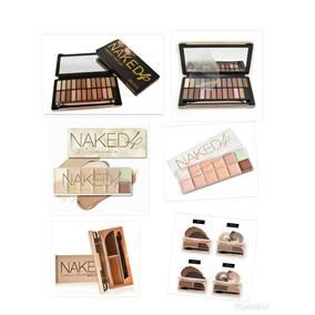 O Melhor Kit Maquiagem Naked 4/sombra/24cores