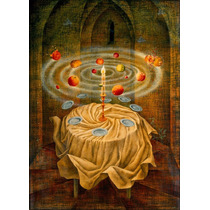Lienzo Entela, Naturaleza Muerta Re. Remedios Varo. 50x70 Cm