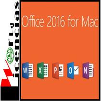 Office Mac 2016 Licencia Original Para 1 Mac