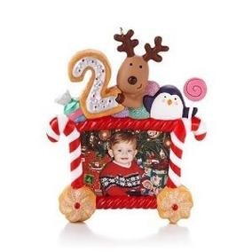 Ornamento Del Recuerdo Del Sello 2013 Mi Segunda Navidad -