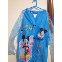 Capa Mickey Mouse Impermeable