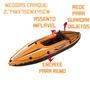 Bote Caiaque Stand Up Mor Atacado Camping Suporte Remo Barco