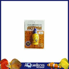 Ovos De Artemia S/ Casca Maramar 20ml Alimento P/ Alevinos