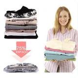 Saco À Vácuo Protetor Organizador Roupa Cobertor 60x50cm