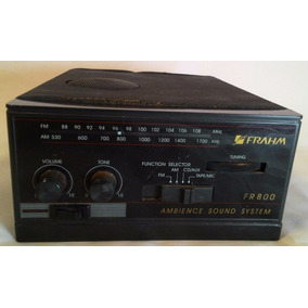 Receiver Amplificador Radio Fr800 Frahm Som Ambiente