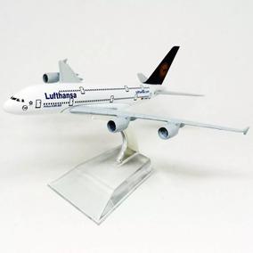 Avião Metal Boeing Airbus 747 A380 Decorar Escritório Oferta