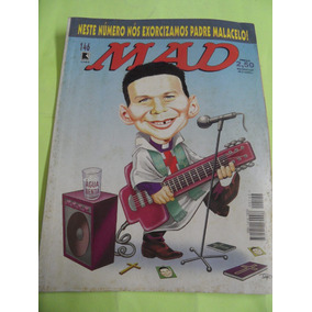 Revista Mad N°146 Orignal Padre Marcelo