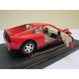 Ferrari 348 Tb 1989 Burago Escala 1/24 Metalico.envio Gratis