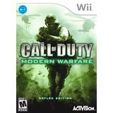 Call Of Duty Modern Warfare Reflex Wii Nuevo Citygame Ei