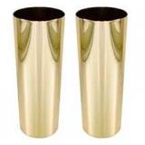 Copo Long Drink Metalizado Dourado 360 Ml S/personalização