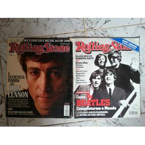 Lote 2 Revistas Rolling Stone Beatles John Lennon