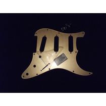 Escudo Strato Am Std Sss Padrao Fender Dourado (gold)