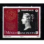 México Scott 1646 Año 1990 700p 150 Aniv Primera Estampilla