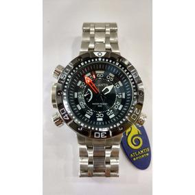 Relógio Original Atlantis Modelo Citzen J3400 Com Frete Grat