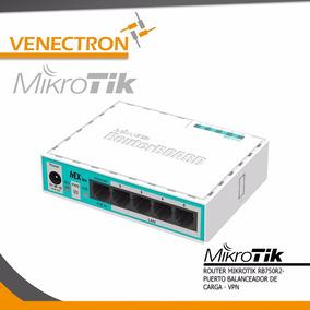 Router Mikrotik Rb750r2 - Balanceador De Cargas Vpn Poe In
