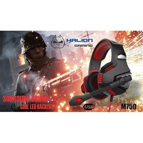 Audifono Gamer Halion M750 7.1 Solo Usb Tda. Surco - Wilson