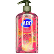 Jabón Líquido Abc Aroma Rosas 500ml Con Dispensador