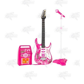 Conjunto Guitarra Eléctrica Amplificador Y Micrófono Xtreme