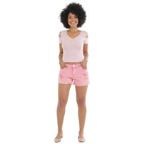 5e9c2141e Shorts Jeans Feminino Parana Rolandia - Shorts Sarja para Feminino ...