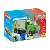 Playmobil Camion Reciclaje Basurero Ambulancia Escolar Shox