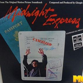 Midnight Express Expresso Meia-noite 1978 Trilha Filme Lp