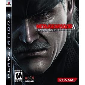 Jogo Metal Gear Solid 4 Guns For Patriots Ps3 Frete Grátis
