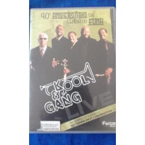 Dvd: Kool & The Gang Live - 40º Aniversário Da Lenda Do Funk