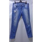 Calça Jeans Masculino Skinny Marca Zoomp Tm/46