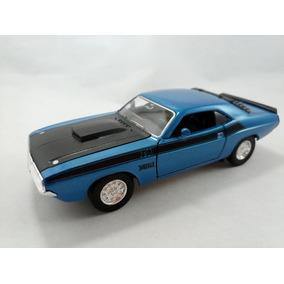 Carro Dodge Challenger1970 Metalico A Escala 1/32