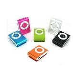 Mp3 Mini Shuffle Clip Con Auriculares Cable Usb