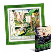 O Hobbit + Pôster Livro Capa Dura -  J.r.r. Tolkien