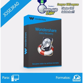 Recupera Archivos Borrados - Wondershare Data Recovery V6.5