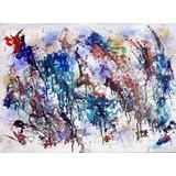 Cuadros Abstractos Pintura Acrílica Originales 50x70