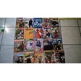 Lote Revistas Games E Animes .