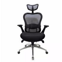 Cadeira Escritório Presidente Ergon Chair Tela Mesh Preta