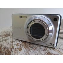 Camera Sony W270 12,1megapixels, Com Cartao 4gb Pouco Usada.
