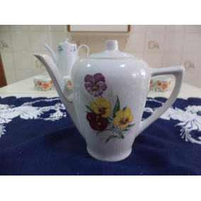 Bule De Cafè Porcelana Rami