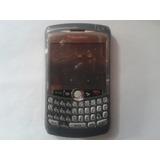 Carcasa Blackberry Curve 8320 Gris Vinotinto ¡somos Tienda!