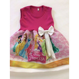Vestido Infantil Festa Princesas Disney Fantasia - Promoção