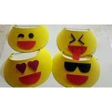 Viseras Cotillon Cumpleaños Tematica Emojis