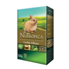 Ração Super Premium Coelho Filhote - 1,5kg - Nutrópica