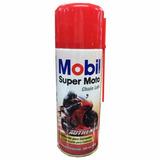 Oleo Lubrificante Corrente Mobil Spray Chain Lube Moto 200ml