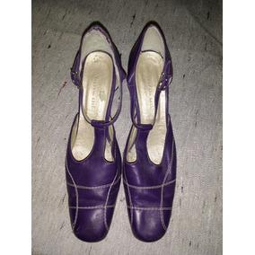 Zapatos De Mujer Guillerminas Valeria Leik Tacos Altos