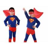 Fantasia Infantil Superman -super Homem