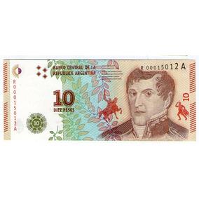 Barese2013 10 Pesos Reposion Nuevo Diseño S/c