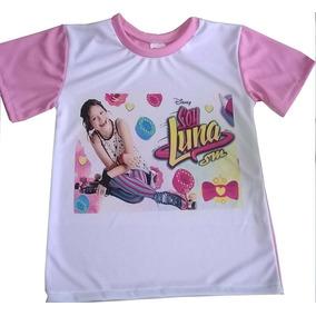 Soy Luna Franela Camisa Personalizada Cumpleaños Cotillon