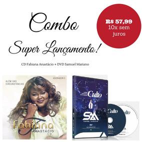 Dvd Samuel Mariano + Fabiana Anastácio Lançamento - Original