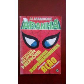 Hq Almanaque Homem Aranha 8 Rge Raro 1982