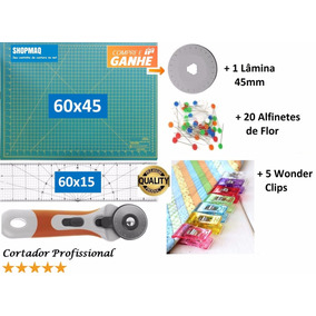 Kit Base De Corte 60 +régua 60 +cortador Patchwork,scrapbook